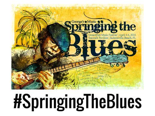 SPRINGING THE BLUES FESTIVAL APRIL